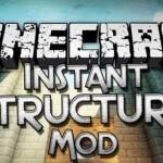 Скачать мод «10 Instant Structures» для Minecraft 1.5.2 — 10 мгновенных построек