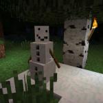 Скачать мод «Pumpkin-less Snow Golem» для Minecraft 1.5.2 — Мего снеговик