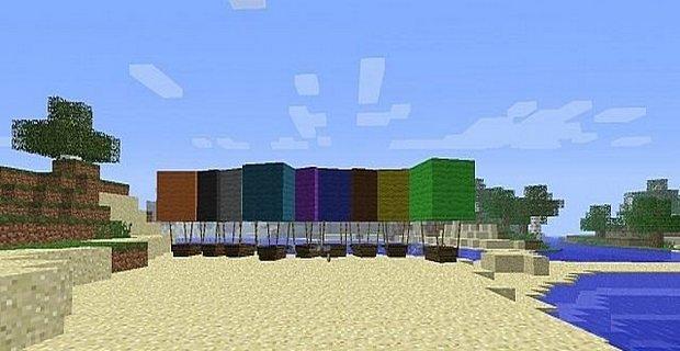 Скачать мод Airship для Minecraft 1.5.2 - Воздушные шары Майнкрафт