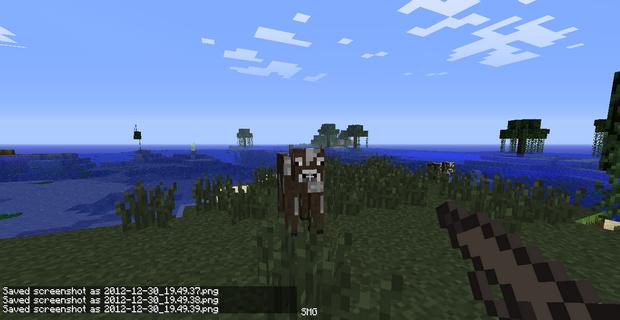 Мод на оружие для Minecraft 1.4.7 (18)