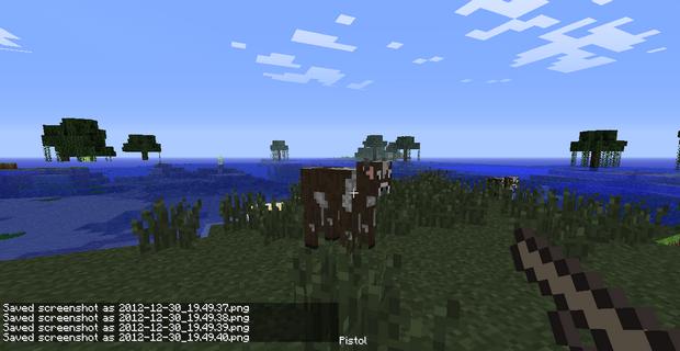 Мод на оружие для Minecraft 1.4.7 (15)