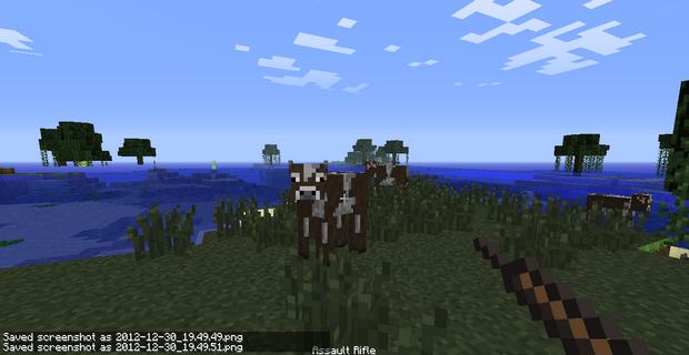 Мод на оружие для Minecraft 1.4.7 (14)