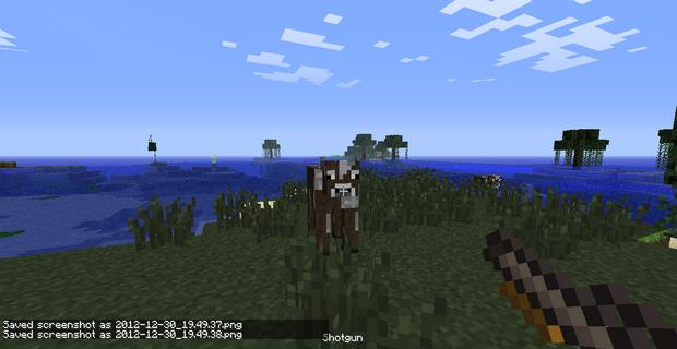 Мод на оружие для Minecraft 1.4.7 (13)