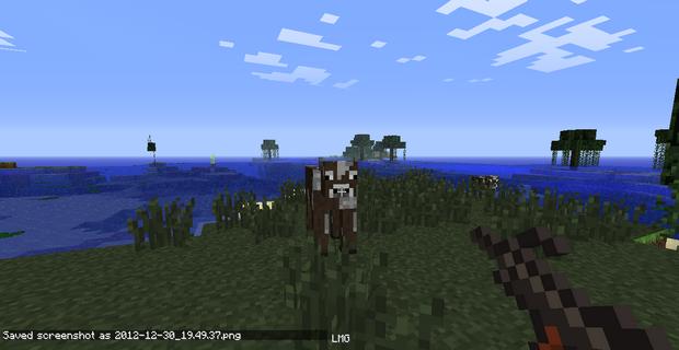 Мод на оружие для Minecraft 1.4.7 (19)
