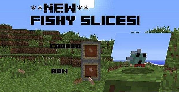 """Скачать мод """"Fishy mod"""" для Minecraft 1.5.2 - Мод на рыб"""