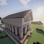 Скачать мод Instant Roman temple для Minecraft 1.5.2 — Мгновенный Римский Храм