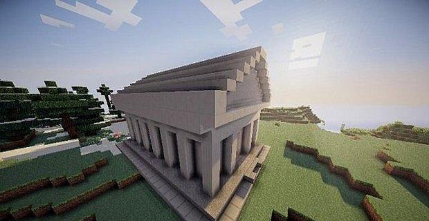 Скачать мод Instant Roman temple для Minecraft 1.5.2 - Мгновенный Римский Храм