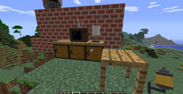 Мод на мебель для Minecraft 1.4.7/1.4.6/1.4.5