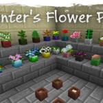 Скачать мод «Painter's Flower Pot» для Minecraft 1.5.2 — Цветочные горшки