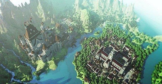 Карта Замок для Minecraft 1.5