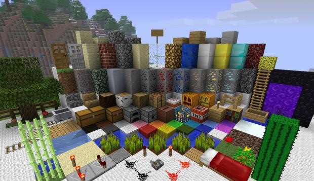 Текстурпак Faithful 32x32 для Minecraft 1.5, 1.4.7