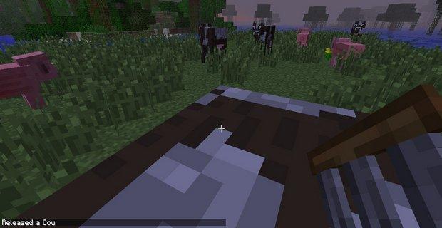 """Скачать мод """"Mob Cages"""" для Minecraft 1.5.2 - Пленные мобы"""