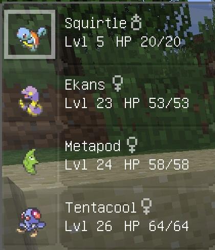Скачать мод на Покемонов для Minecraft 1.5.2 - Pokemon (10)