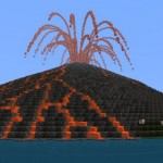 Майнкрафт вулканы