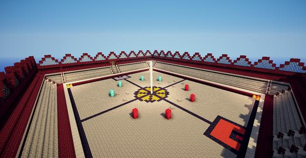 Карта арена спартанцев