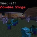Карта Zombie siege — Осада зомби