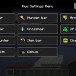 Интерфейс Minecraft или что можно делать в этой игре?
