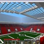 Как сделать стадион в майнкрафт