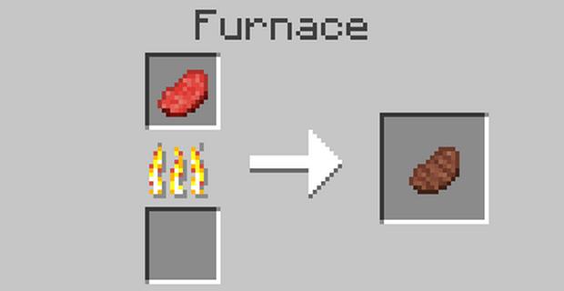 Как сделать стейк в Майнкрафте
