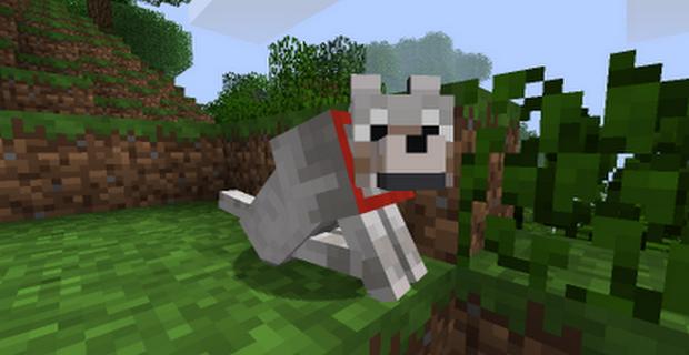 Как в Майнкрафте сделать щенка