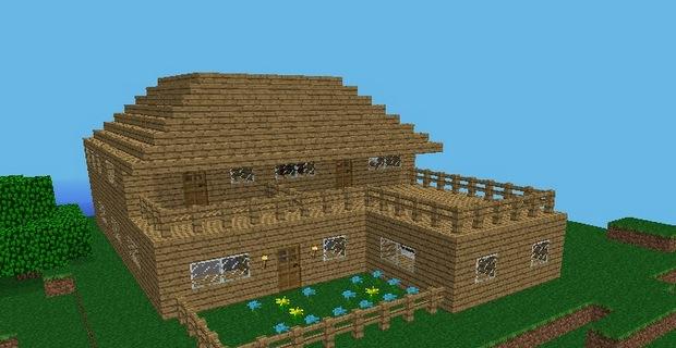 Как в exploration сделать дом
