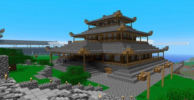 Как в Майнкрафте сделать дворец