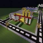 Как сделать МакДональдс в майнкрафт