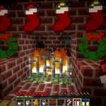 Встретить новый год в игре Minecraft