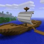 Постройка корабля в МайнКрафте