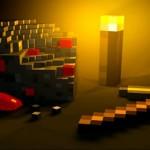 Как сделать факел в майнкрафт