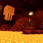 Создание портала в Нижний мир (Ад) в Minecraft
