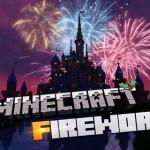 Фейерверки в мире Майнкрафт без использования модов