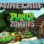 Игра Зомби против Растений в майнкрафт