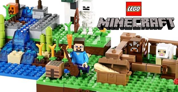 Майнкрафт Лего