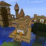 Посёлок Зомби в  Майнкрафт