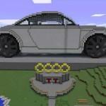 Как создать автомобиль в Minecraft?