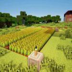 Как сделать пшеничную ферму в minecraft?