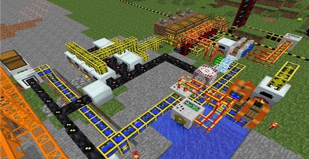 Industrial Craft 2 для Майнкрафт