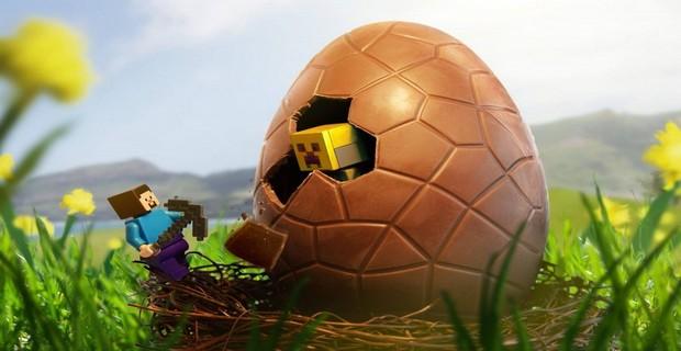 Пасхальные яйца в Minecraft