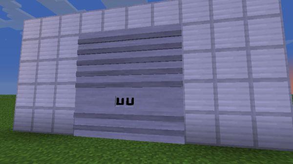 Мод на двери для гаража в Майнкрафт 1.7