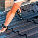 How to put a metal roof on a house