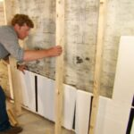 How to Adhere Drywall to a Concrete Block